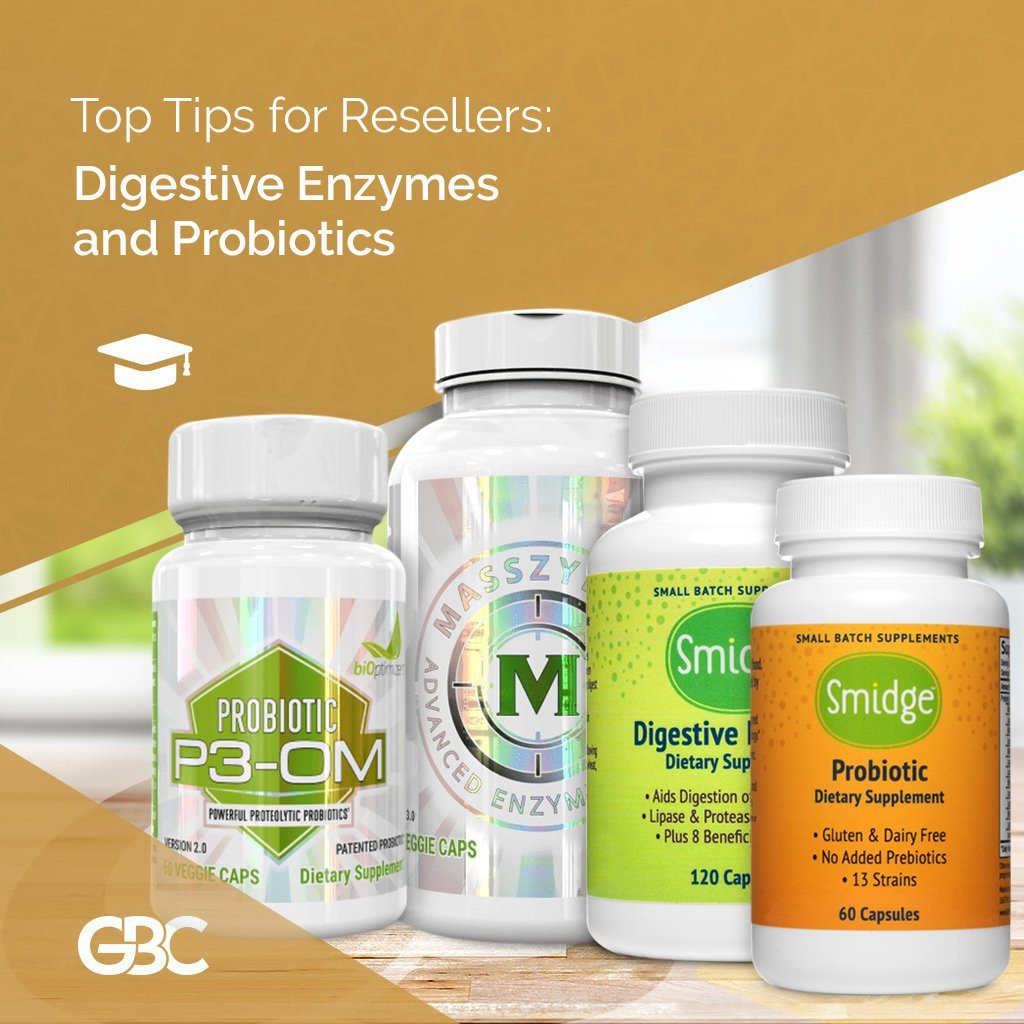 The powerful synergistic ability of digestive enzymes and probiotics
